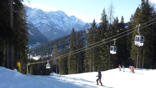 Spinale Direttissima, Madonna di Campiglio Ski Map