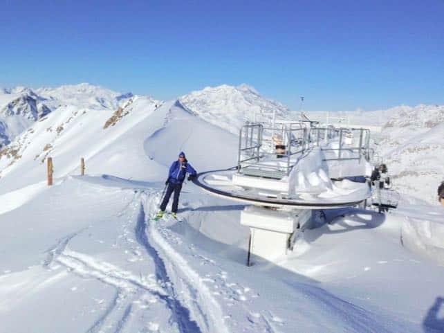 Here We Go Again: Heavy Snow Falling in the Alps   Welove2ski