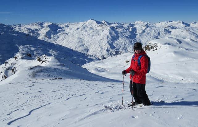 Beautiful, Blazing Sunshine Across the Alps | Welove2ski