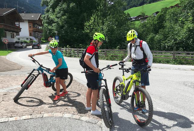 Cycling in Mayrhofen | Welove2ski