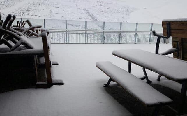A Sprinkling of September Snow in the Alps | Welove2ski