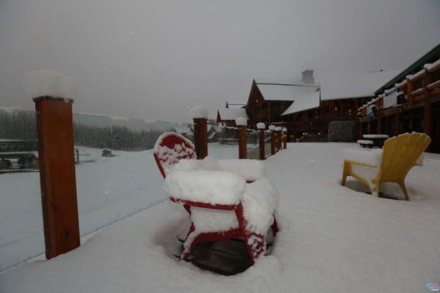 Heavy Pre-Season Snow in Canada