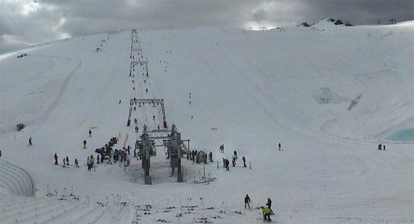 Les Deux Alpes Glacier Snow June 18 2012 | Welove2ski