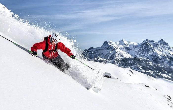 Skier in Kitzbuhel - The 10 Ski Runs That Deliver the Best Skiing in Austria