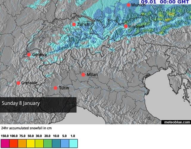 Up to 80cm of Fresh Snow in Austria   Welove2ski