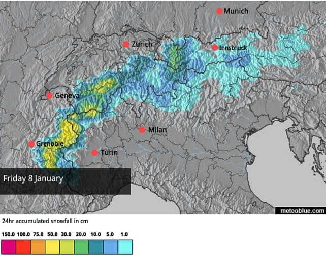 30-40cm of Fresh Snow in the Western Alps | Welove2ski