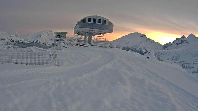 Heavy Pre-Season Snow in Canada | Welove2ski