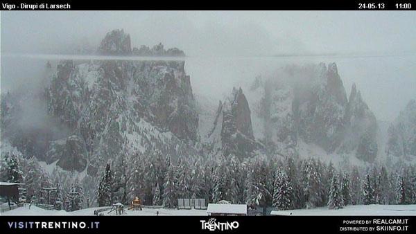 Heavy snow hits the Alps...on May 24 | Welove2ski